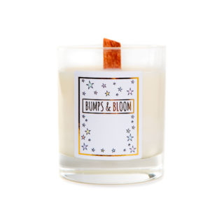 Bumps & Blooms Bedtime Candle
